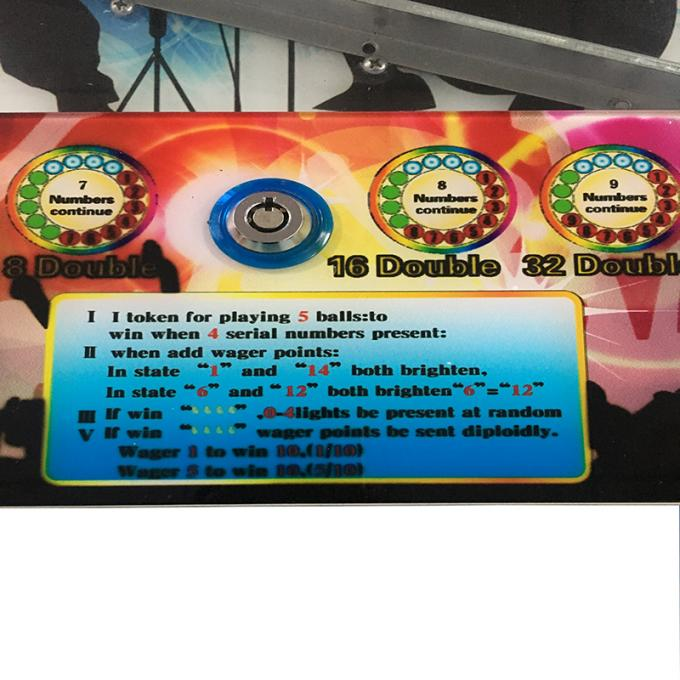 Shopping Mall Vintage Pinball Machines / Digital Arcade Pinball Machine 0