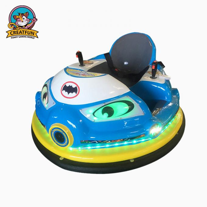 Electric Amusement Park Bumper Cars 360 Degrees With Remote Control