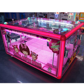 Box Shape Prize Vending Machine Grabber Dolls Toy Crane Claw Machine