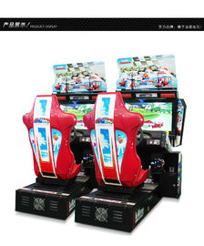 Coin Operated Indoor Racing Game Machine Unique Use In Video Arcade