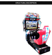 China Cruisin Blast Arcade Car Racing Games Technical Support For Amusement Park supplier
