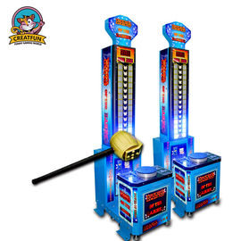 China Hammer Coin Operated Game Machine Simulated Boxing Combine Sport And Entertainment supplier