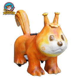 Mechanical Walking Animal Ride Dinosaur Toys Appearance Customized Speed
