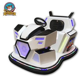 China Durable Battery Amusement Park Bumper Cars 1 Or 2 Player Optional Music supplier
