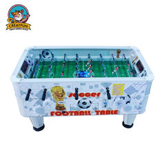 China Multi Player Colorful Football Arcade Game Machine Cute Mini Soccer Table supplier