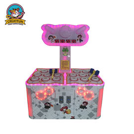 Electric Whack Mole Amusement Arcade Machines Exercise Muscle Use