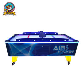 Indoor Arcade Game Machines Coin Operated Mini Hockey Table Adjustable Light
