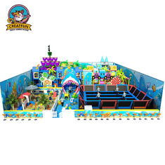 Customized Size Kids Playground Equipment Soft Commercial Playground Sets