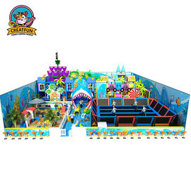 China Customized Size Kids Playground Equipment Soft Commercial Playground Sets supplier