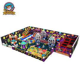 China Professional Indoor Jumping Equipment Commercial Grade Naughty Castle Theme supplier