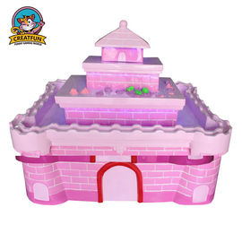 China Luxury Indoor Castle Childrens Art Table Interesting 4 Or 5 Players Capacity supplier