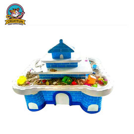 China Play House Type Kids Playground Equipment Arts And Crafts Table For Toddlers supplier