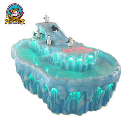 China Iceberg Painting Kids Art Table Unique Design For Cultivating Interactive Ability supplier
