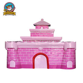 China Indoor Kids Playground Equipment Fiberglass Magic Castle Sand Table supplier