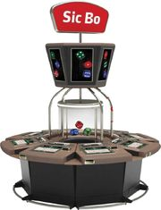 China 8 Players Electronic Video Slot Machines Roulette Game Machine Mystery Jackpot System supplier