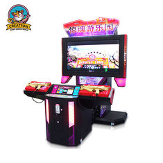 Adjustable Shooting Game Machine Arcade Shooting Games With 55 Inch LCD Screen