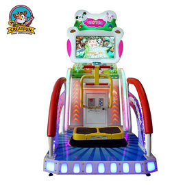 Kids Lottery Ticket Redemption Machine Happy Jump Racing Type Custom Logo