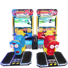 Fun Racing Game Machine Motorcycle Racing Arcade Game Adjustable Seat