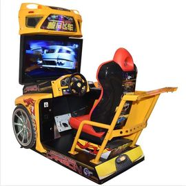 China Customized Racing Game Machine For Amusement Park / Arcade Playing Center supplier