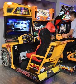 China Stunning Visual Enjoyment Racing Game Machine With Big High Definition Screen supplier