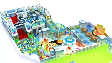 Large Residential Indoor Playground Equipment / Home Playground Equipment