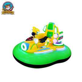 Inflatable Amusement Park Bumper Cars With Remote Control / Manual Operation