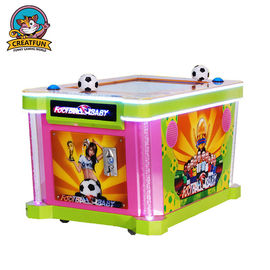 Inddor Punch Ball Machine / Moveable Arcade Games Machines Footabll