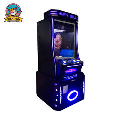 Custom Made Coin Operated Game Machine Happy Jumping Ball Game Playing