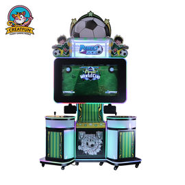Fun Coin Operated Football Machine , Kids Game Machine Modern Style