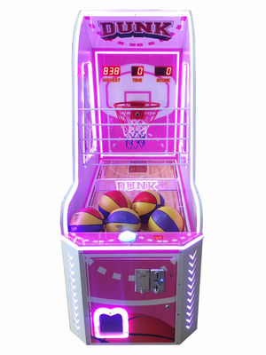 Electronic shoot Crazy Hoop Coin Operated Basketball Game Machine