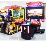 China 2 Players Shooting Game Machine Laser Electronic Customized Color factory