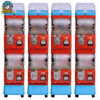 Amusement Center Gumball Vending Machine Transparent Ball Box 1-6 Coins