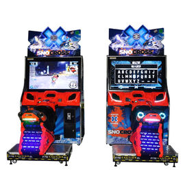 China Electronic Motorcycle Racing Game Simulator Machines HD Display Screen distributor