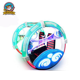 China Leswing Travelling Amusement Park Bumper Cars Colorful Rotation Type distributor