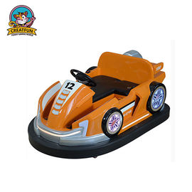 China Outdoor Amusement Park Bumper Cars Adjustable Speed With Colorful LED Light distributor