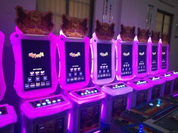 China Coin Operated Fishing Game Machine Policy Class Type With 55 Inch Screen distributor