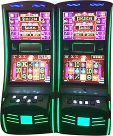 China Dual Screen Video Casino Games Slot Machines With High Speed Hopper distributor