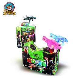 China Floor Standing Target Shooting Game Machine 2 Players Indoor Shooting Games distributor