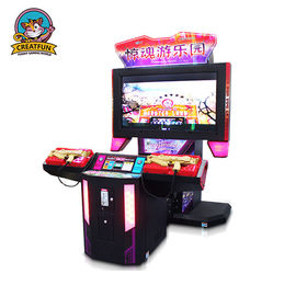 China Adjustable Shooting Game Machine Arcade Shooting Games With 55 Inch LCD Screen distributor